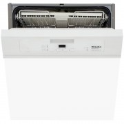 Miele G4203SCi Brilliant White Built In Semi Integrated Dishwasher