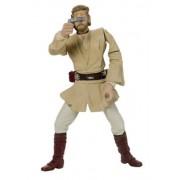 Star Wars Attack of the Clones Obi Wan Kenobi Jedi Starfighter Pilot figure
