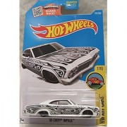 '65 Chevy Impala 2016 HW Art Cars Series 1:64 Scale Collectible Die Cast Metal Toy Car Model #1/10