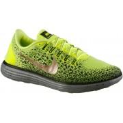 Nike Free Run Distance Shield Laufschuhe Herren in neongelb/gold/grau, Größe: 44 1/2
