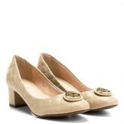 Shoestock Scarpin Shoestock Matelassê Medalha - Feminino