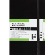 Moleskine City Notebook BRUXELLES Couverture rigide noire 9 x 14 cm