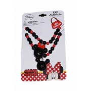Disney Mickey and Minnie Mouse Baby Girls Dress Up Accessory - Bead Necklace Set