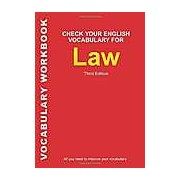 Check Your English Vocabulary for Law: All You Need to Improve Your Vocabulary