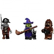 Witch Zombie Pirate Captain Bigfoot : Lego Collectible Minifigures Series 14 Monsters Zombies Halloween Custom Bundl