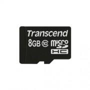 8GB Micro SDHC memorijska kartica Class 10 sa adapterom Transcend TS8GUSDHC10