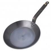 de Buyer Eisenpfanne Mineral B Element (Durchmesser oben/ Boden/ Höhe/ Kilogramm: 26 cm / 18 cm / 4 cm / 1,9 kg)