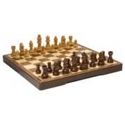 MODIANO Scacchiera pieghevole in noce - Set scacchi e dama