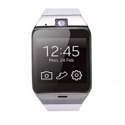 Sannysis Aplus GV18 Bluetooth Smart Watch für Samsung iPhone(weiß)