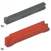 LEGO Technic 32-Tooth Long Gear Rack with Housing