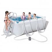 Bazén rodinný s konstrukcí 287 x 201 x 100 cm TV Products