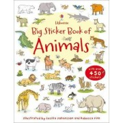 Big Sticker Book of Animals by Jessica Greenwell