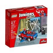 Lego Juniors Spider Man Car Pursuit, Multi Color