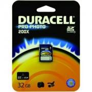 Duracell 32gb Pro-Photo SD Card (DU-SD1032G-R)