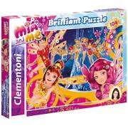 Clementoni 20126 - Puzzle Brilliant Mia and Me, 104 Pezzi