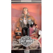 HARLEY DAVIDSON BARBIE DOLL 4th in Series COLLECTOR EDITION (1999) by Mattel. made in Indonesia