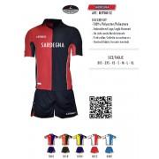 Legea - Completo Calcio Kit Sardegna