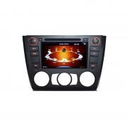 Sistem de navigatie DVD + TV analogic pt BMW E81 E82 E87 E88 seria 1 model PNI 9205 clima manuala (PNI)