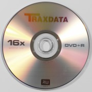 DVD+R Traxdata Blank 16x 4,7GB in shrink 10 buc