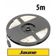 Lunartec Bande à LED 230 V, 5 mètres - Jaune