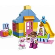 Set Constructie Lego Duplo Doc Mcstuffins Clinica Doctoritei Plusica