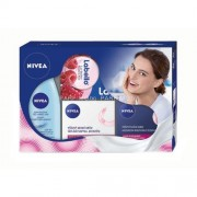 Nivea Face Pink Kit 244ml за Жени - 50ml Rich Regenerating Day Care + 50ml Rich Regenerating Night Care + 125ml Gentle Eye Make-Up Remover + 19ml Labello Lip Butter Raspberry Rosé За суха и чувствителна кожа