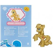 My Little Pony Friendship is Magic 2 Inch PVC CHASE Figure Metallic Applejack Blue Card by Hasbro
