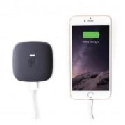 Zens Portable Power Pack Wirelessly Rechargeable 10400mAh - външна батерия с функция за безжично зареждане (черен)