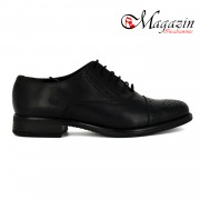 Pantofi dama piele naturala - Caspian - Model Mania Negru