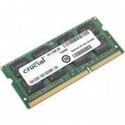 SODIMM, 8GB, DDR3L, 1600MHz, Crucial, Low Voltage, CL11 (CT102464BF160B)