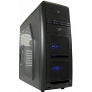 LC-Power Pro 975W AirWing - Midi-Tower Black - White/BlueLED