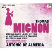 Antonio De Almeida - Thomas: Mignon (0886975273324) (3 CD)