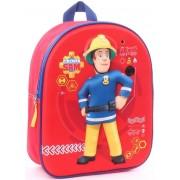 Rugzak Brandweerman Sam 3d/geluid 31x25x12 cm