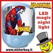 LUCE NOTTE LED SPIDERMAN MARVEL
