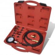 vidaXL Set de verificare a presiunii uleiului motor