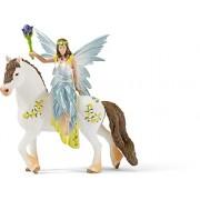 Schleich - Figura Eyela en vestido festivo, montada (70516)