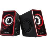 Boxe Stereo 2.0 Marvo SG-201 (Negru/Rosu)