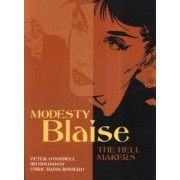Modesty Blaise - the Hell Makers by Peter O'Donnell