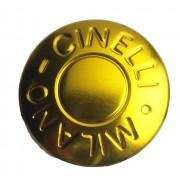 Cinelli, Milano - 2 tappi protettivi per estremità barre, Oro (oro), Taglia unica