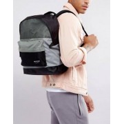 Nicce London Backpack In Black With Mesh Panels - Black