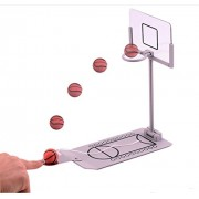 Action Fly Basketball Game Mini Desktop Tabletop Portable Travel Or Office Game Set For Indoor Or Outdoor Fun Sports Novelty Toy Or Gag Gift Idea