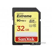 Card de memorie SanDisk Secure Digital 32GB SDHC Extreme 90MB/sec Class10 U3