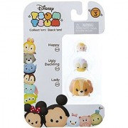 Disney Tsum Tsum Series 3 Happy Ugly Duckling & Lady 1 Minifigure 3-Pack #204 344 & 230