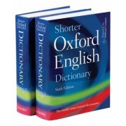 Shorter Oxford English Dictionary by Oxford Dictionaries