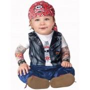 Vegaoo Biker-Kostüm für Babys