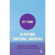 Key Terms in Systemic Functional Linguistics by Christian Matthiessen