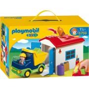Playmobil 123 Vrachtwagen met Garage - 6759