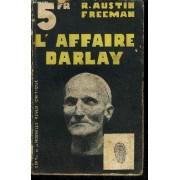 L'affaire Darlay (The D'arblay Mystery).