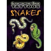 Glow-in-the-Dark Tattoos Snakes by Jan Sovak