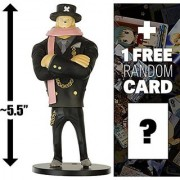 Tony Tony Chopper: ~5.5 Super One Piece Styling Figure - Suit & Dress Style #2 (Japanese Import) + 1 FREE Official Japanese One Piece Trading Card Bundle